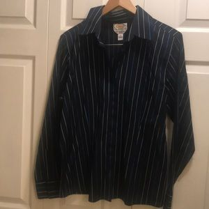 Talbots long sleeve striped shirt